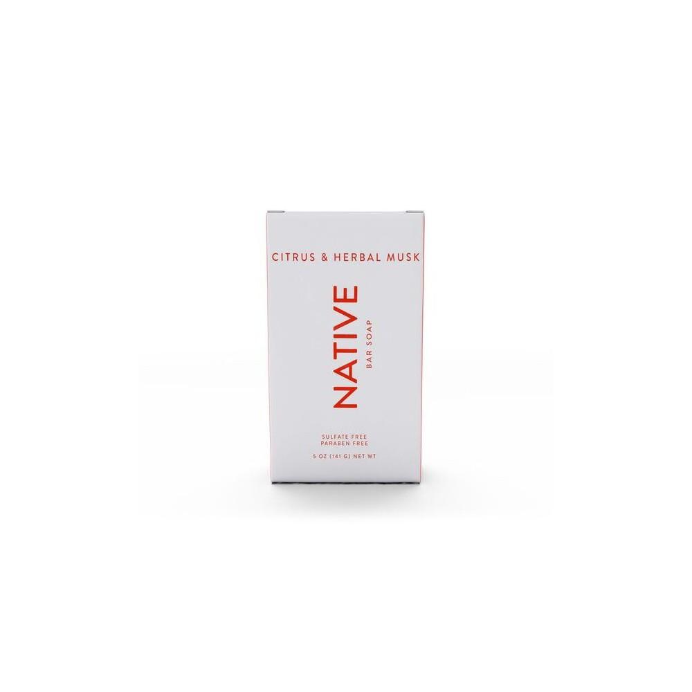 Image of Native Citrus & Herbal Musk Bar Soap - 5oz