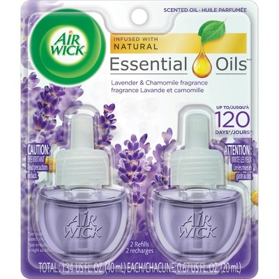 Air Wick Lavender & Chamomile Scented Oil Refills