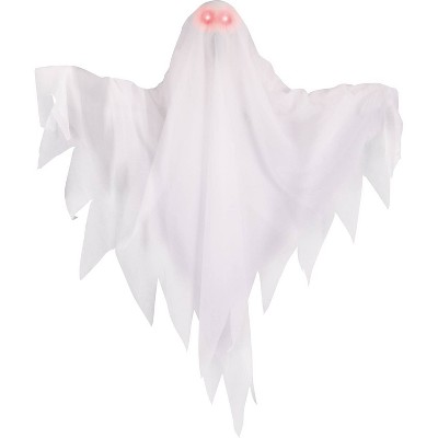 """22"""" Halloween Animated Ghost with Light-Up Eyes"""