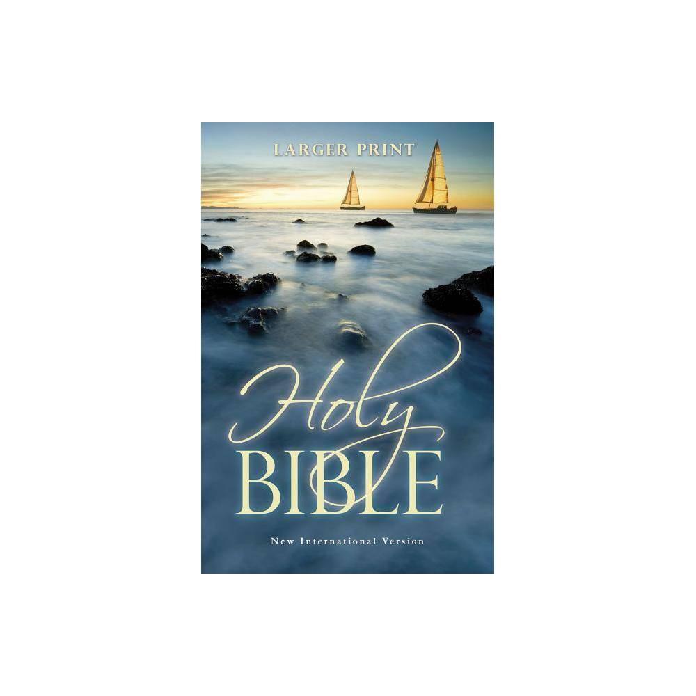 Larger Print Bible Niv Large Print By Zondervan Paperback