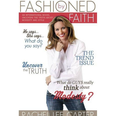 Fashioned by Faith - by  Rachel Lee Carter (Paperback) - image 1 of 1