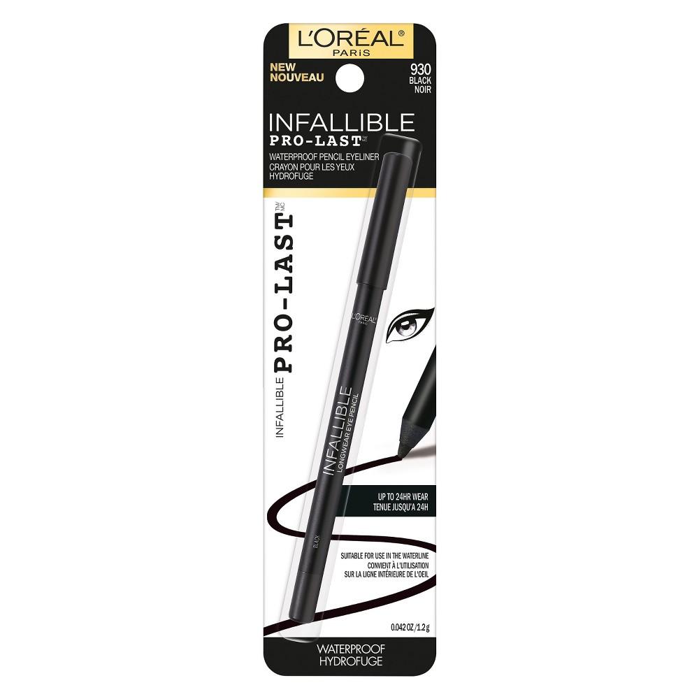 Image of L'Oréal Paris Infallible Pro-Last Waterproof Eyeliner Black- 0.042oz, Black