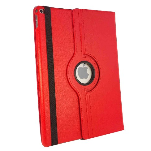 "iPM 360 Degree Rotary Stand Faux Leather Case For iPad Pro 12.9"" - Red - image 1 of 2"