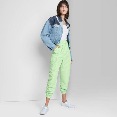 Women's Cargo Jogger Pants - Wild Fable™