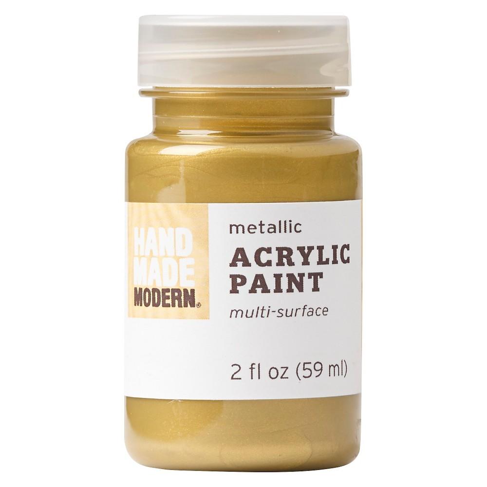 Hand Made Modern - 2oz Metallic Acrylic Paint - 20k Gold