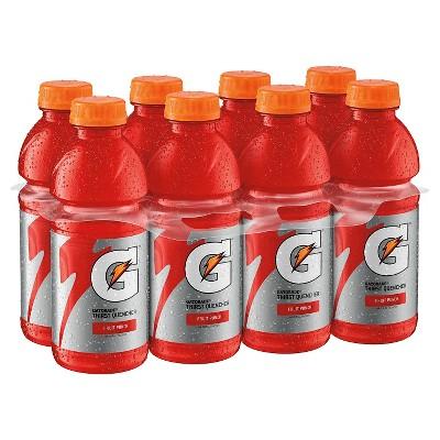 Gatorade Fruit Punch Sports Drink - 8pk/20 fl oz Bottles