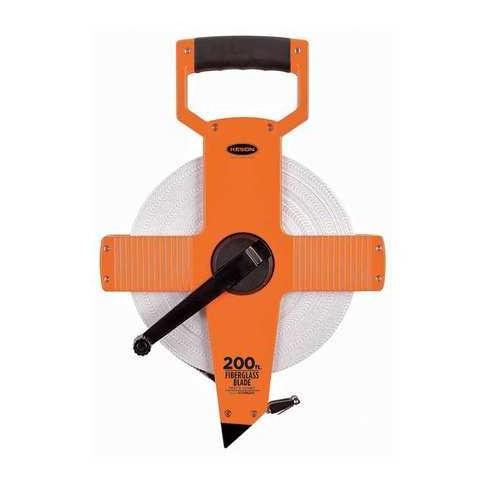 "KESON OTR-18-200 200 ft. Long Tape Measure, 1/2"" Blade, Pumpkin - image 1 of 1"