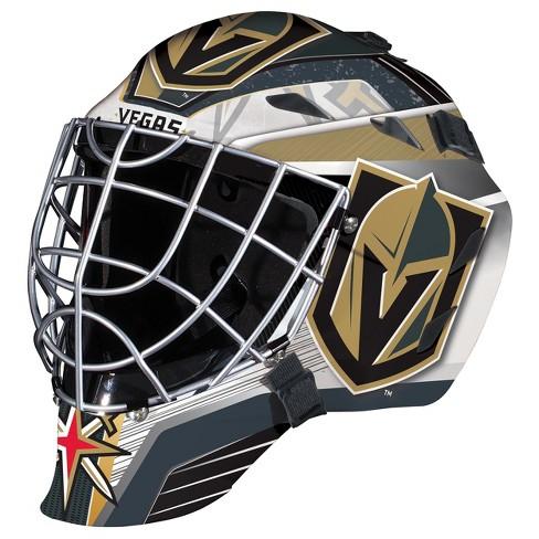 NHL Vegas Golden Knights Franklin Sports Goalie Helmet   Target 64a31fc5c