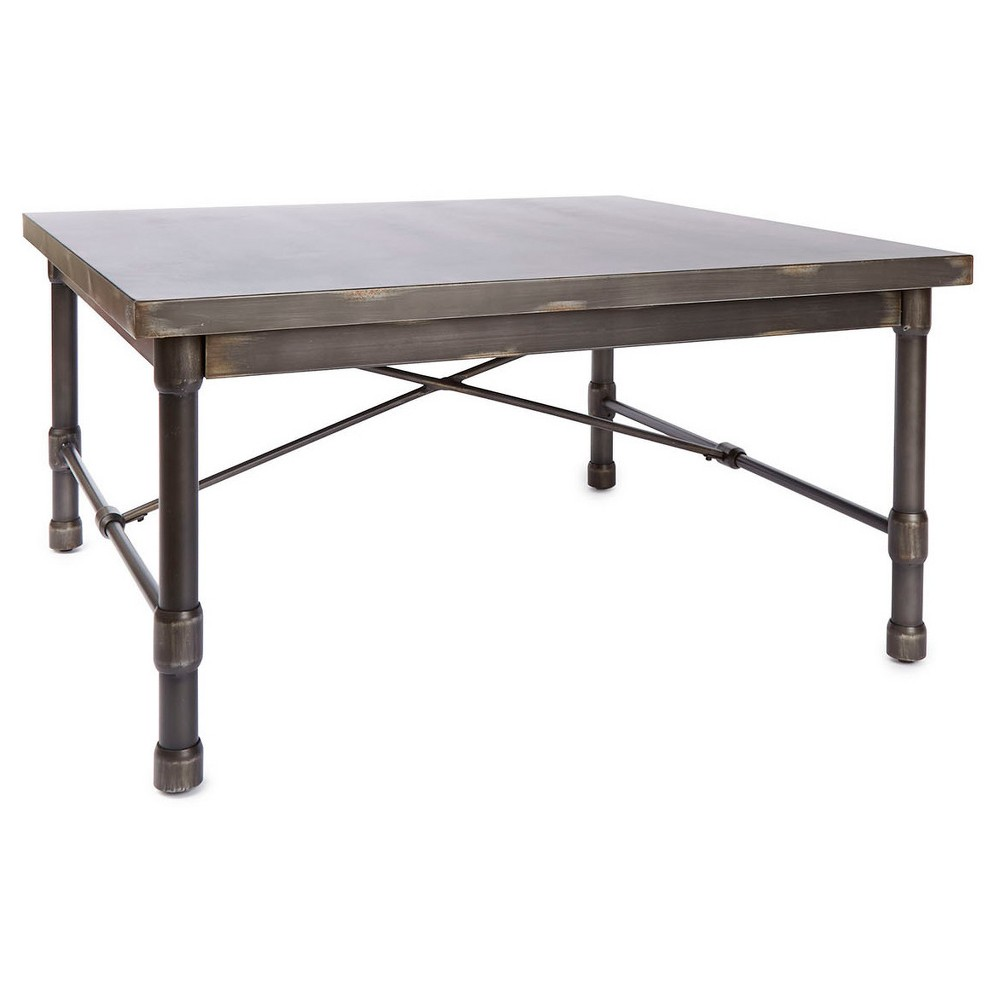 Oxford Industrial Collection Square Coffee Table - Dark Bronze - Silverwood, Golden Bronze