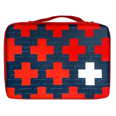 Band-Aid Build Your Own First Aid Kit Bag - Red