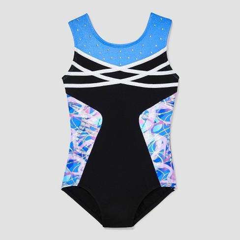 29163ea2c9b5 Girls  Leotard - Freestyle By Danskin Black   Target