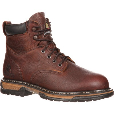Men's Rocky IronClad Steel Toe Waterproof Work Boots