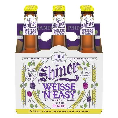Shiner Weisse 'N' Easy Wheat Beer - 6pk/12 fl oz Bottles
