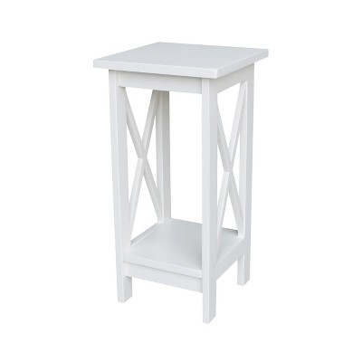 X-Sided Plant Stand White - International Concepts