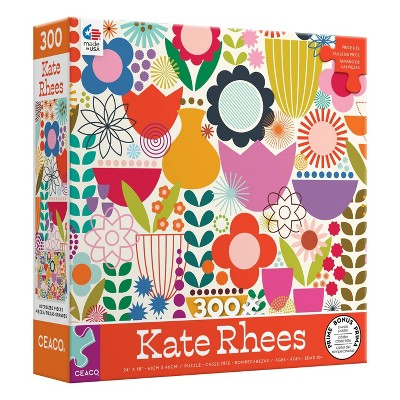 Ceaco Kate Rhees: Scandi Flowers Oversized Jigsaw Puzzle - 300pc