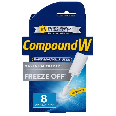 Compound W Freeze Off Wart Remover - 8 Applications