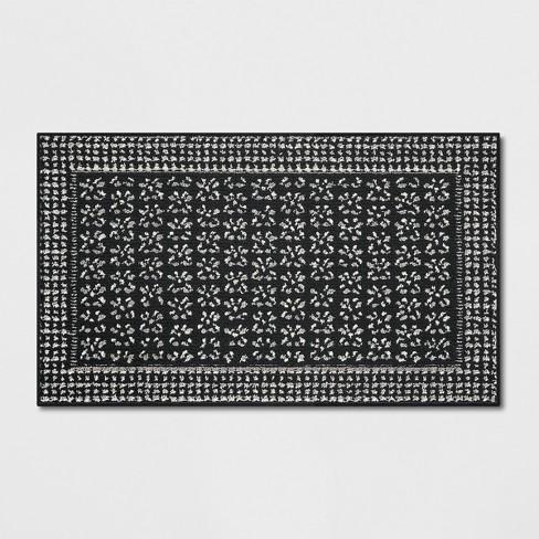Washable Geometric Border Tufted Rug - Threshold™ - image 1 of 3