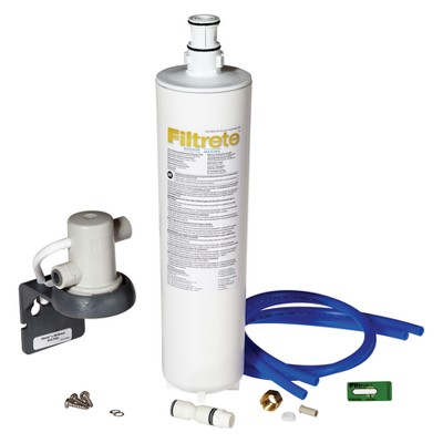 Filtrete Faucet Mounted Filtration - 3US-MAX-S0 White