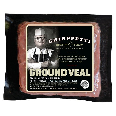 Chiappetti Ground Veal -1-lb - image 1 of 5