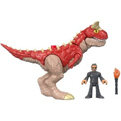 Fisher-Price Imaginext Jurassic World Carnotaurus & Dr. Malcolm