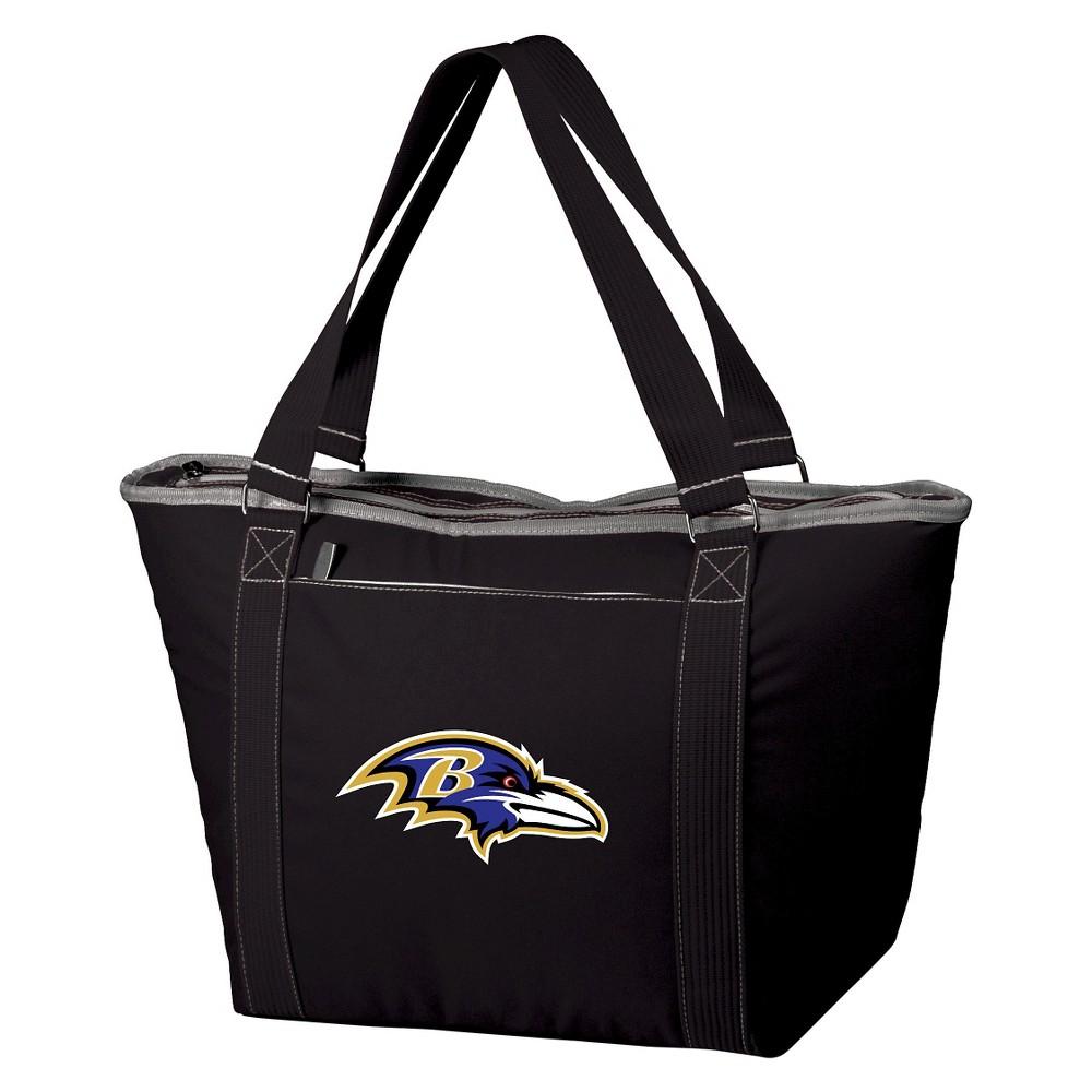 Baltimore Ravens - Topanga Cooler Tote by Picnic Time (Black)