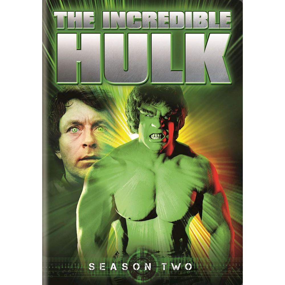 Incredible Hulk:Season Two (Dvd)