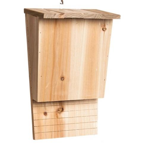 Evergreen Garden Natural Wooden Bat House - image 1 of 1