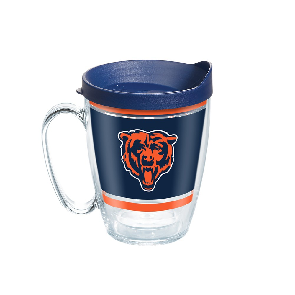 Tervis NFL Chicago Bears Legend 16oz Coffee Mug with Lid