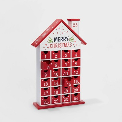 merry-christmas-countdown-house-advent-calendar-with-drawers---wondershop by shop-this-collection