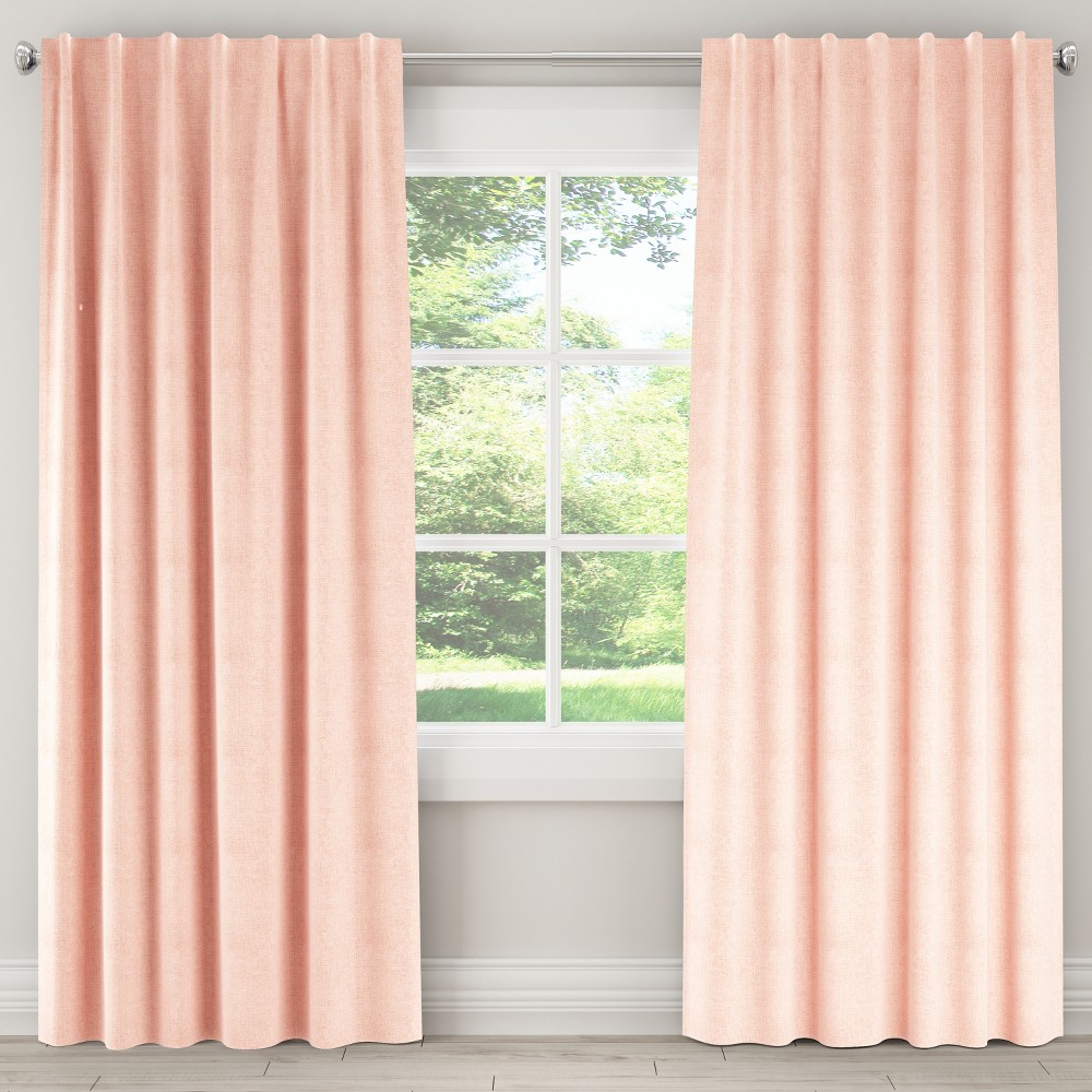 Linen Unlined Curtain Panel (50