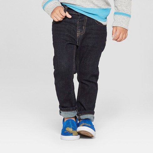 Toddler Boys' Skinny Jeans - Cat & Jack™ Denim Blue - image 1 of 3