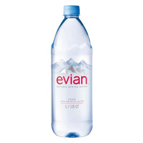 8e1a37b1b2 Evian® Natural Spring Water - 33.8 Fl Oz Bottle : Target