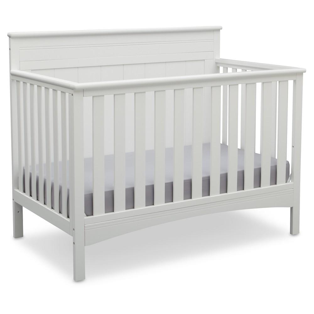 Delta Children Fancy 4-in-1 Standard Full-Sized Crib - Bianca