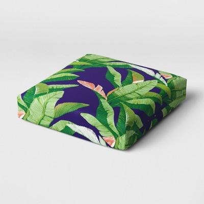 Outdoor Deep Seat Cushion DuraSeason Fabric™ Banana Leaf - Threshold™
