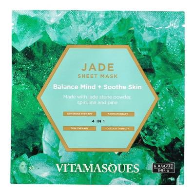 Vitamasques Jade Gemstone Sheet Mask - 0.74 fl oz