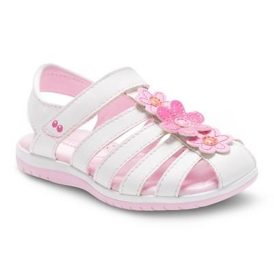 2f1508a87074 Toddler Girls Surprize by Stride Rite® Joyce Fisherman Sandals - White 12
