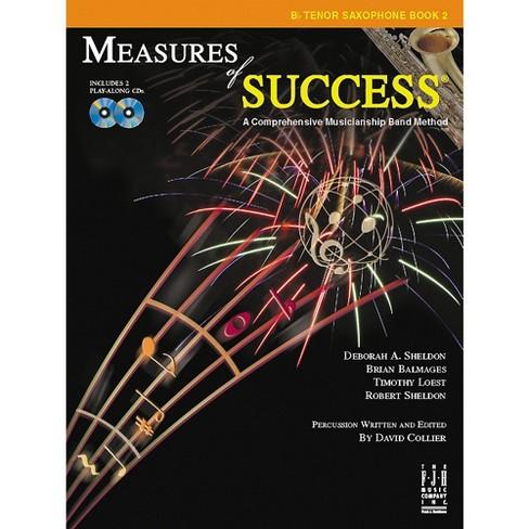 FJH Music Measures of Success B-flat Tenor Saxophone Book 2 - image 1 of 1