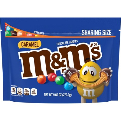 M&M's Sharing Size Caramel Chocolate Candies - 9.6oz