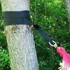 Hammock Tree Strap Set - Black - Sunnydaze Decor - image 2 of 4