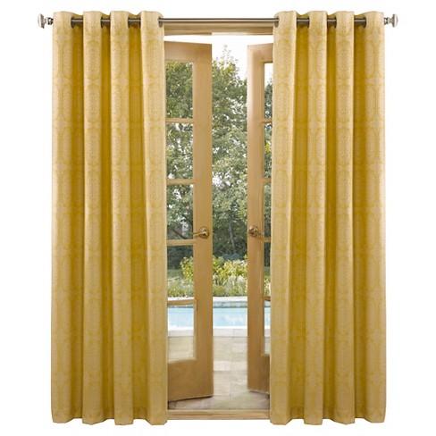 Fontana Indoor Outdoor Energy Efficient Uv Resistant Curtain Panel