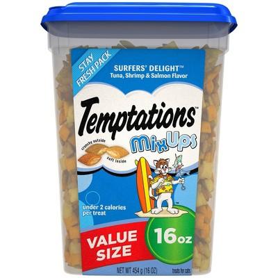 Temptations Mix Ups Surfers Delight Crunchy Cat Treats