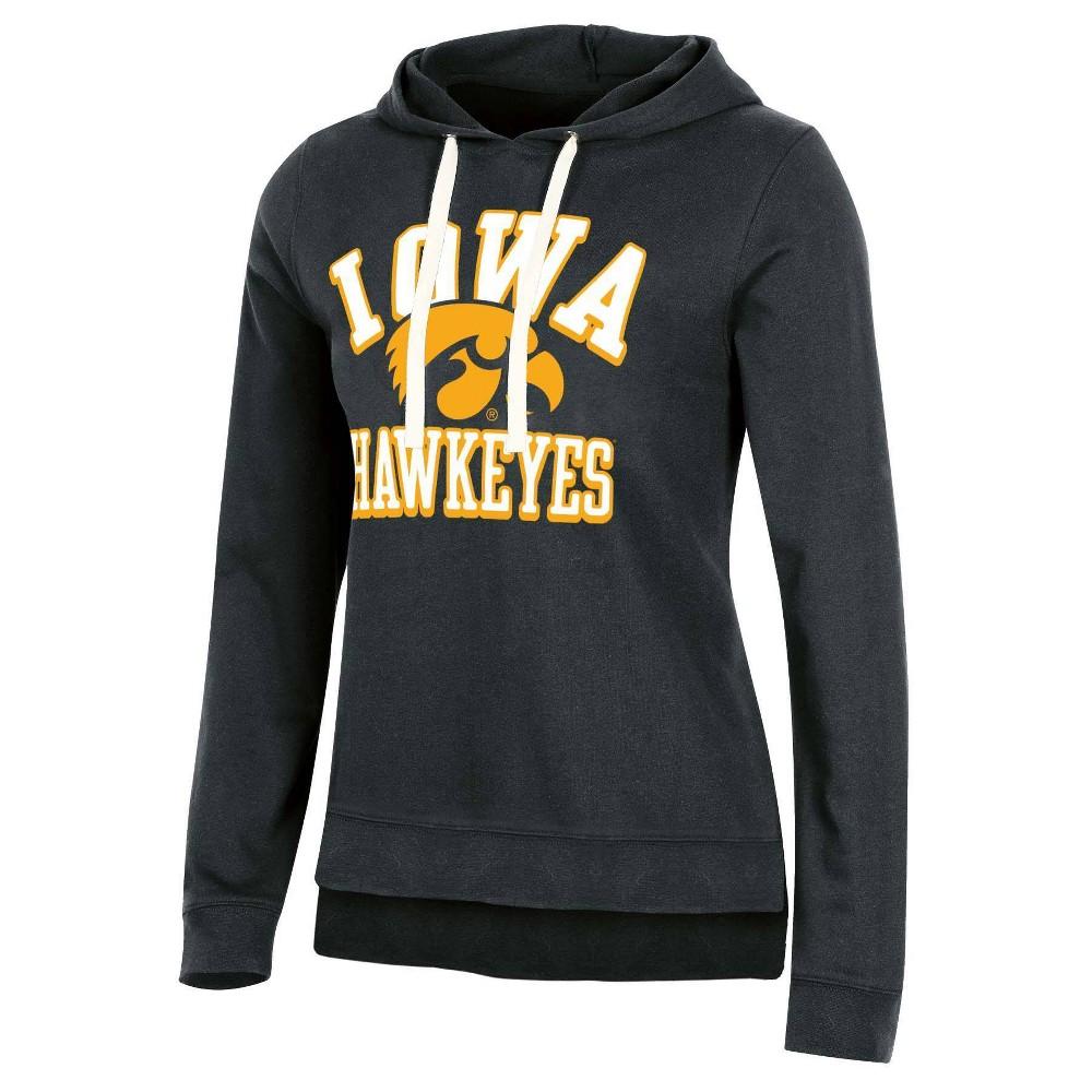 Ncaa Iowa Hawkeyes Women 39 S Fleece Hooded Sweatshirt S