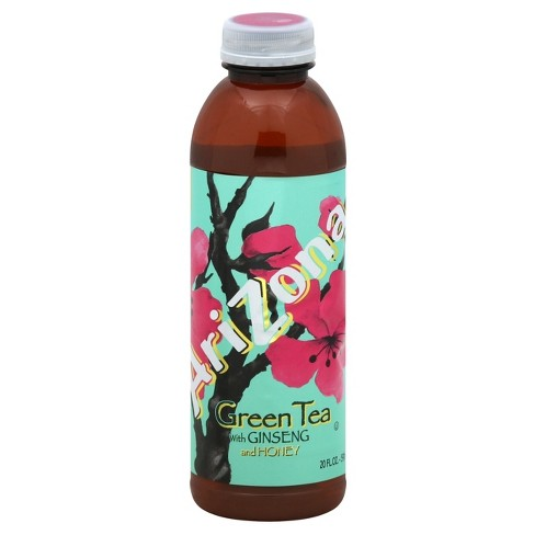 arizona green tea with ginseng and honey 20 fl oz bottle target