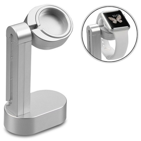 MYBAT Silver Stand Holder For Apple Watch - image 1 of 3