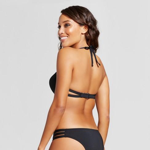 0ef9630f0003b Women's Push-Up Underwire Strappy Back Bikini Top - Mossimo™ : Target