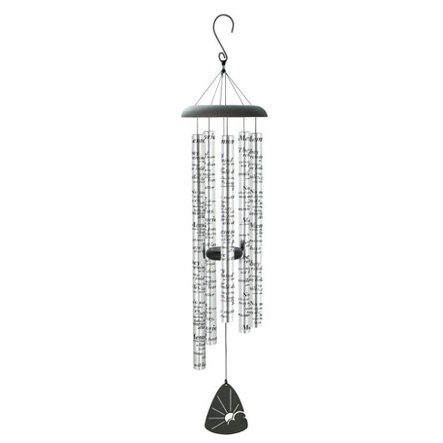 Carson Home Accents 44 Inch Memories Sonnet Outdoor Garden Metal Wind Chime - image 1 of 1