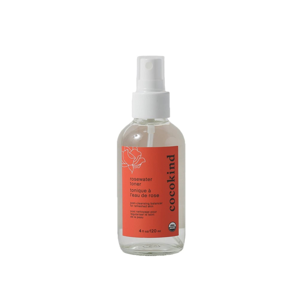 Image of Cocokind Organic Rosewater Facial Toner - 4oz
