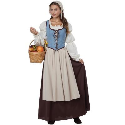 California Costumes Renaissance Peasant Girl Adult Costume