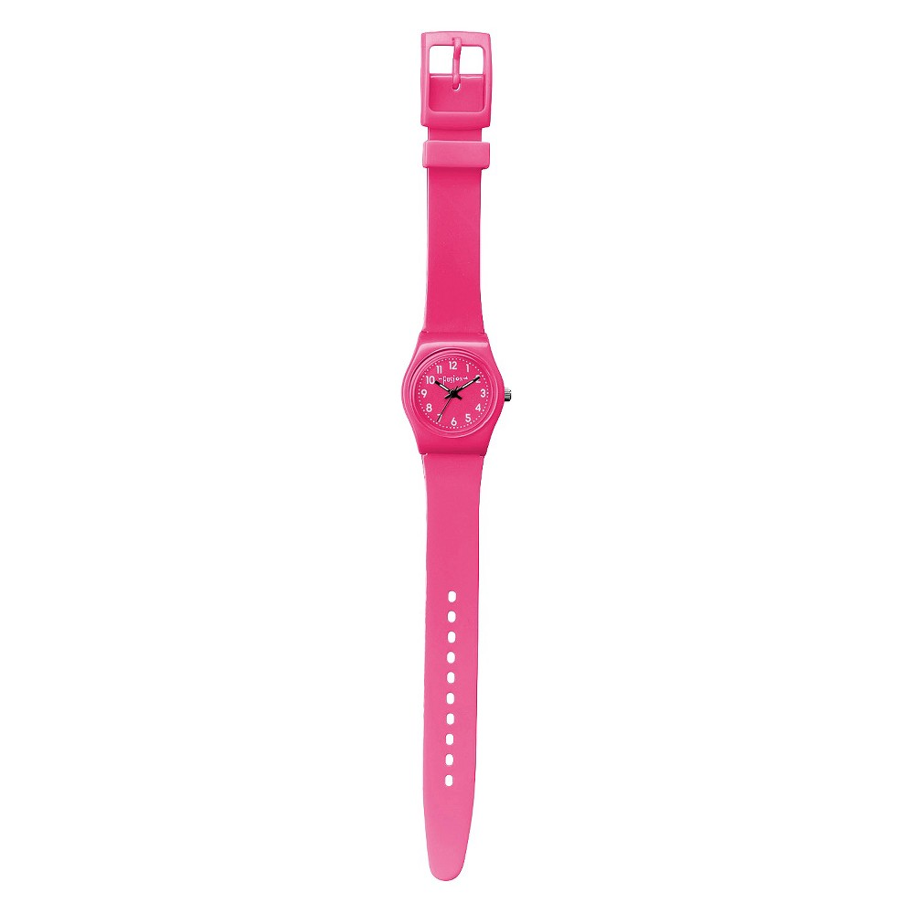 Image of Girls' Fusion Analog Watch - Pink, Girl's, Size: Small