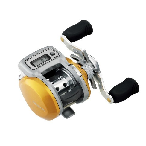 Daiwa Accudepth IC Linecounter Reel 6.3:1 3+1Bb 10Lb/150yd - image 1 of 1